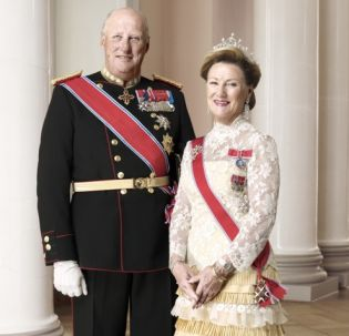 Norwegian Royal couple visits Krakow