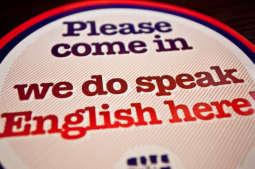 Tutaj mówimy po angielsku