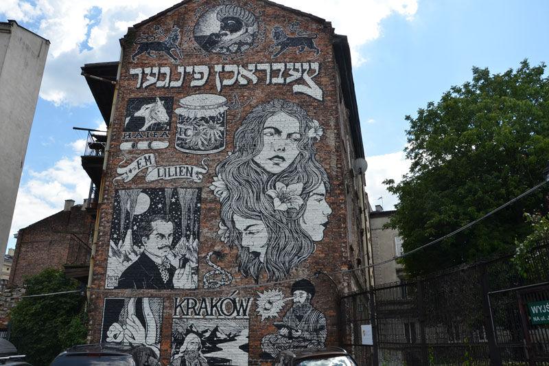 Krakowskie Murale. Nowa Trasa Turystyczna - Magiczny Kraków