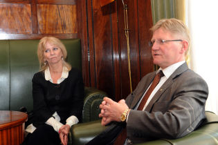 Ambassador of the Kingdom of Norway to Poland visits Krakow