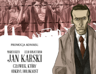 Meet the authors of graphic novel devoted to Jan Karski at Krakow's Home Army Museum