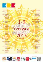 Święto Miasta 2013 plakat 2
