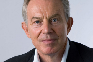 Tony Blair in Krakow