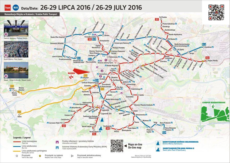 Mapka - 26-29 lipca