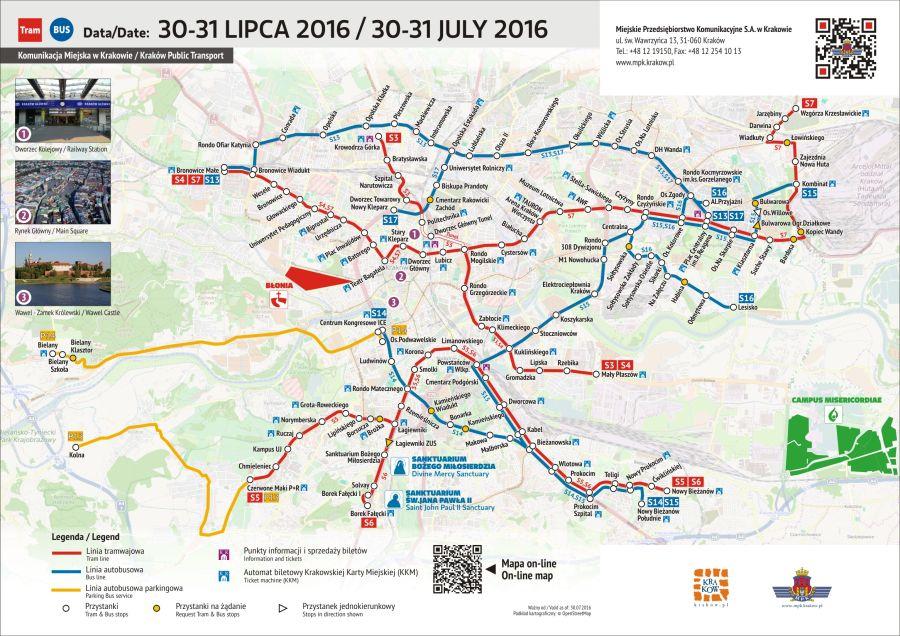 Mapka - 30-31 lipca