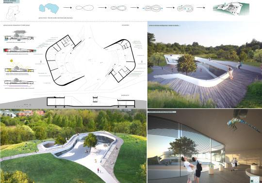 park zakrzówek - projekt  drugie miejsce