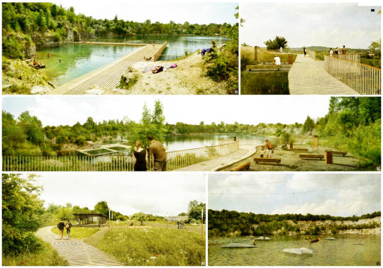 park zakrzówek - projekt  trzecie  miejsce