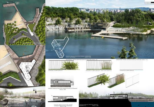 park zakrzówek - projekt  wyróżnienie