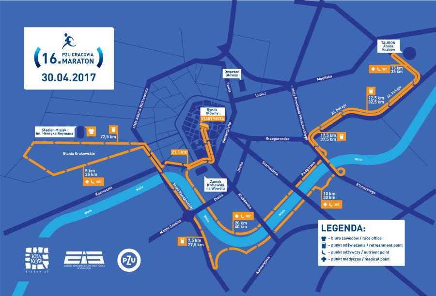 Cracovia Maraton 2017