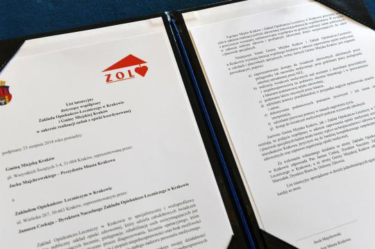 Podpisanie Listu intencyjnego
