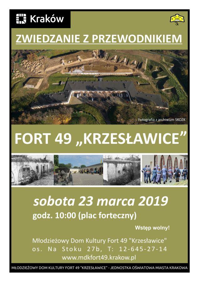 Fort Krzesławice zwiedzanie