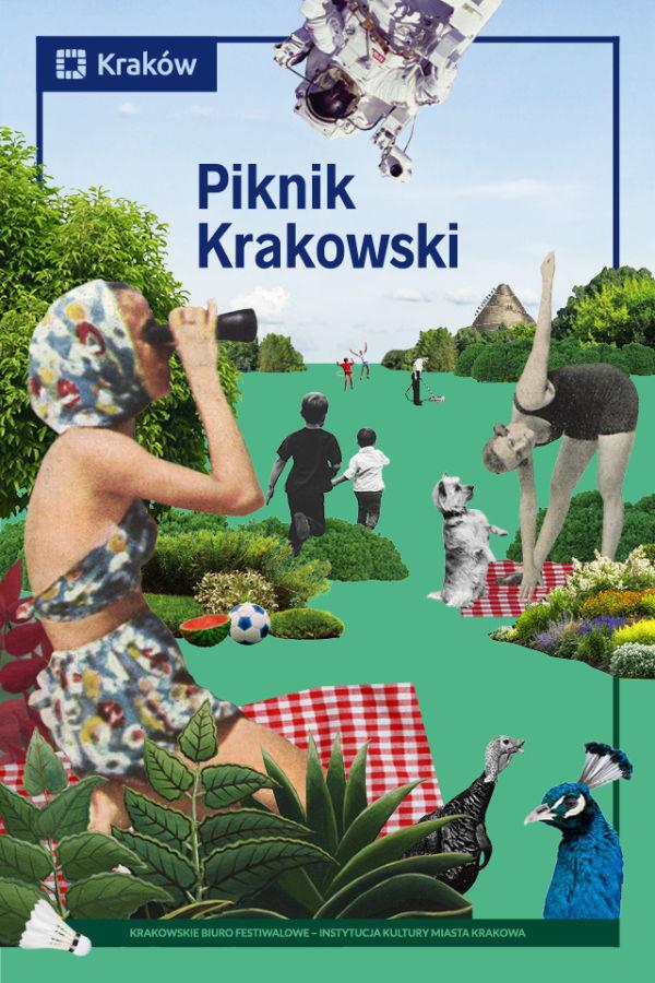 Piknik Krakowski 2019 plakat