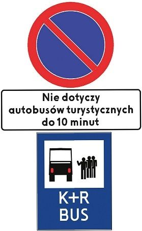 Rules for the use of tourist stops in Krakow - effective as of  05/05/2019