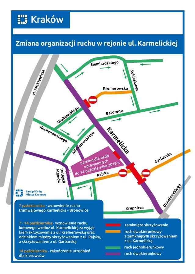 karmelicka mapa 7 października