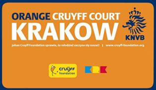 Orange Cruyff Court Krakow is officialy open