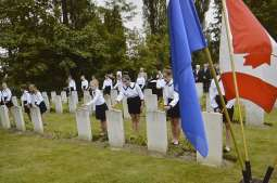 Fallen Canadian pilots honoured in Kraków