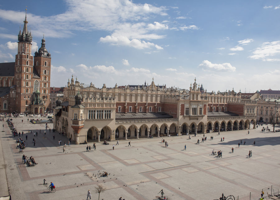 Study travels - promotional tool for Krakow