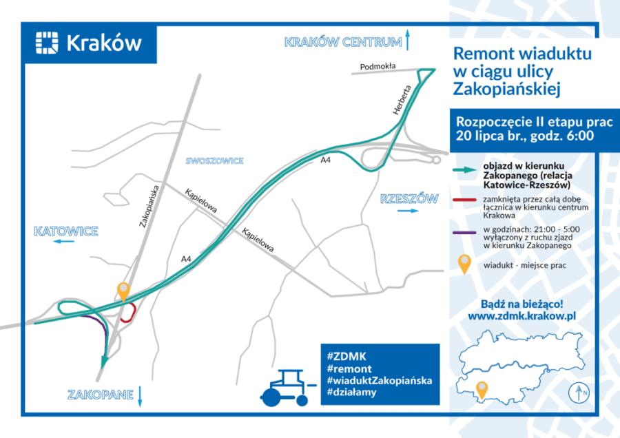 Fot. Zarząd Dróg Miasta Krakowa