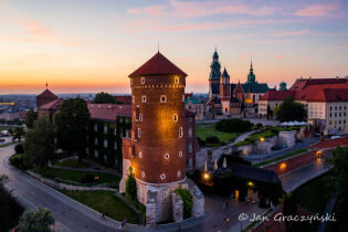 Google's Golden Pin for Wawel!