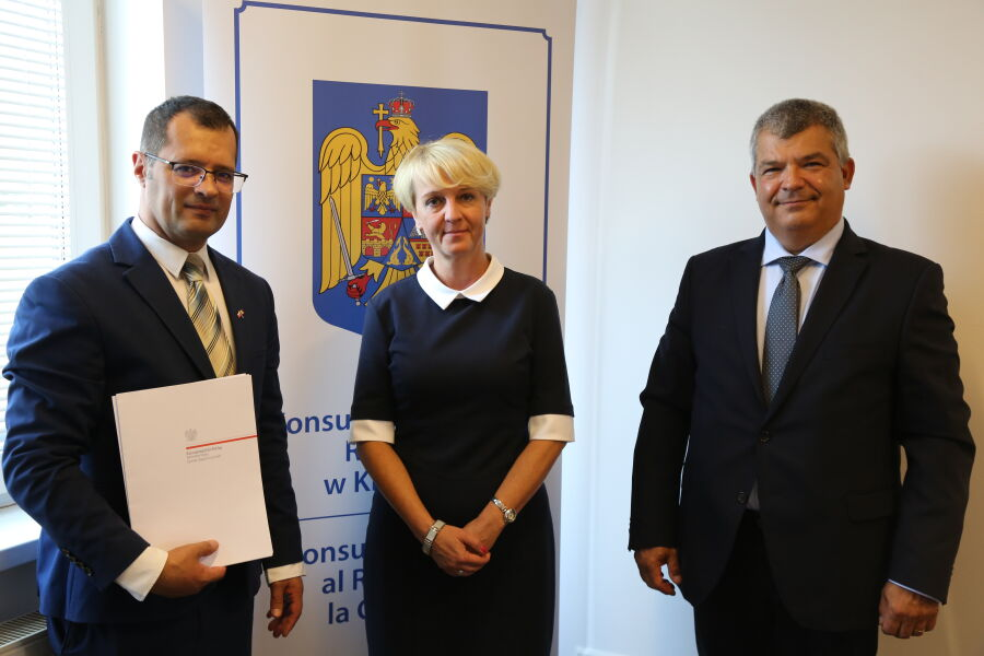 Konsulat Rumunii w Krakowie otwarty
